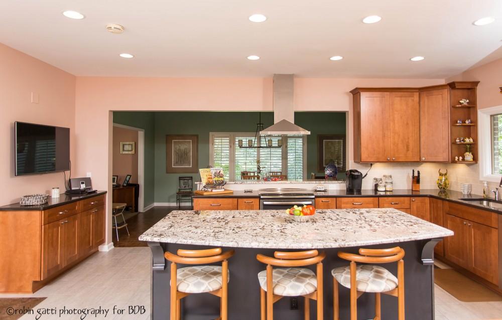 Photo By Bickley Design Build  . Barber Kitchen: Macon, Ga.