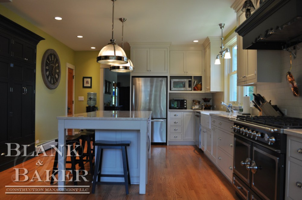 Photo By Blank & Baker Construction Management. Kitchen Remodel