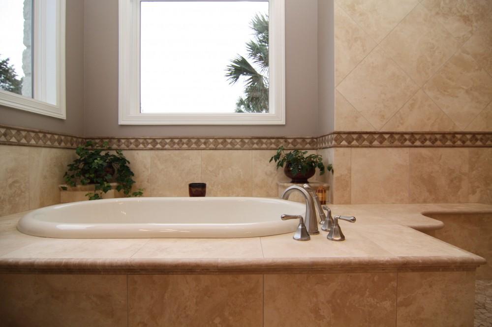 Photo By On Time Baths + Kitchens. Barton Creek - Master Bath