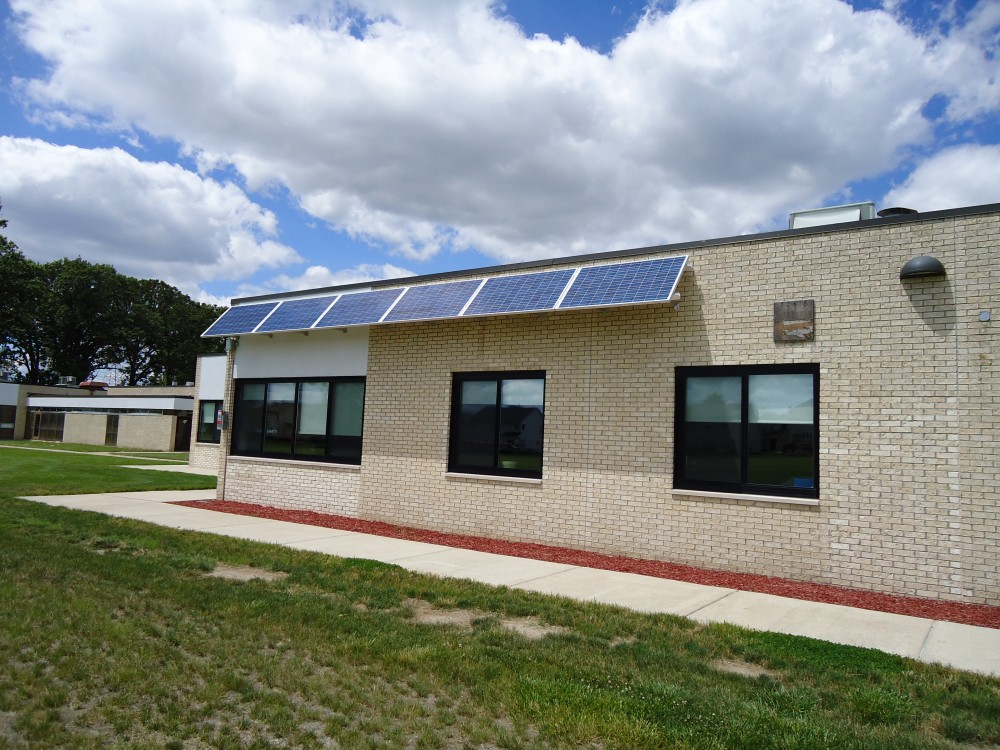 Photo By Michigan Solar Solutions. Commercial Solar Arrays