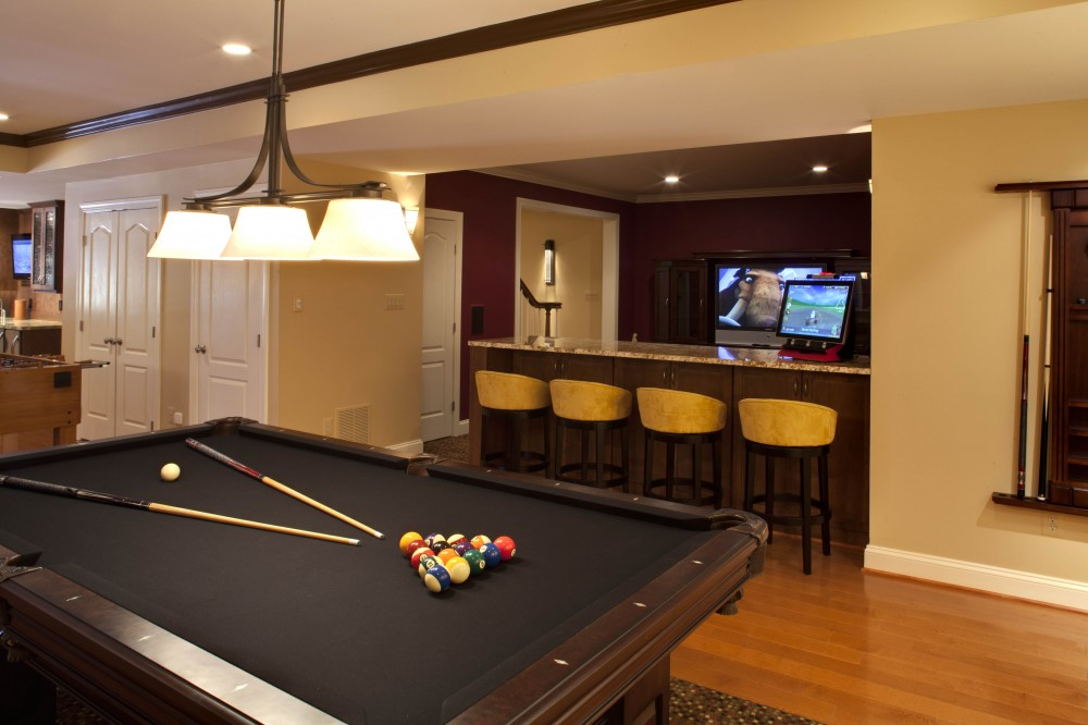 Photo By Home Equity Builders. 2010 Basement Remodel