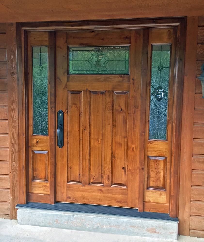 Photo of entry doors for Door to door sales