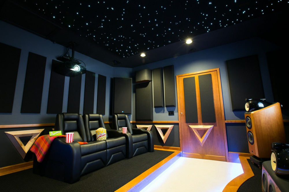 Photo By Case Design/Remodeling Of San Jose. San Jose Home Theater/Media Room