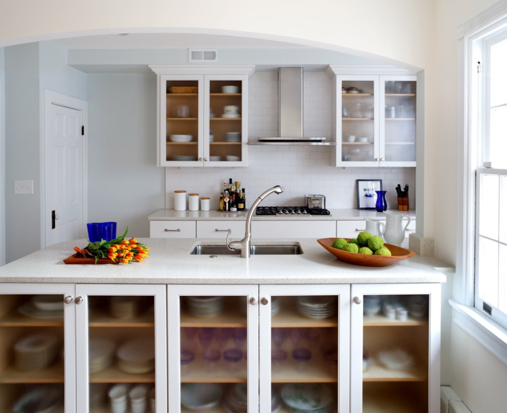 Photo By Wentworth, Inc.. Galley Kitchen Renovation