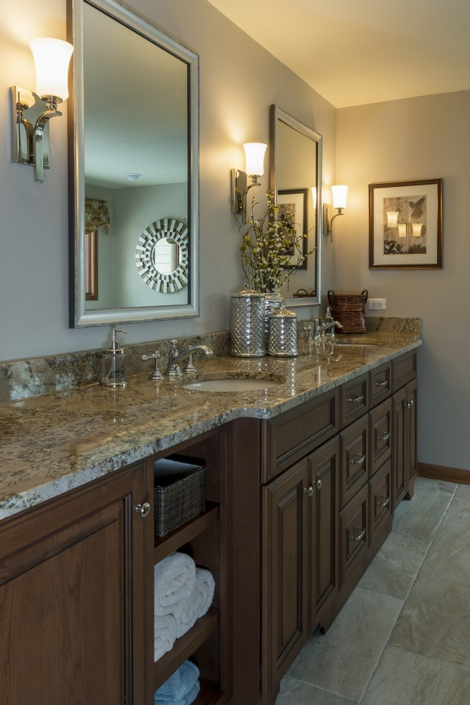 Photo By Synergy Builders. Traditional Bathroom Remodel