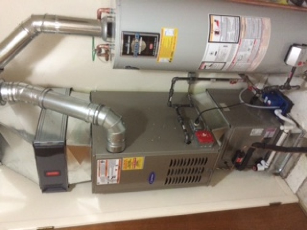 Photo By A.J. Perri. New Furnace Installation