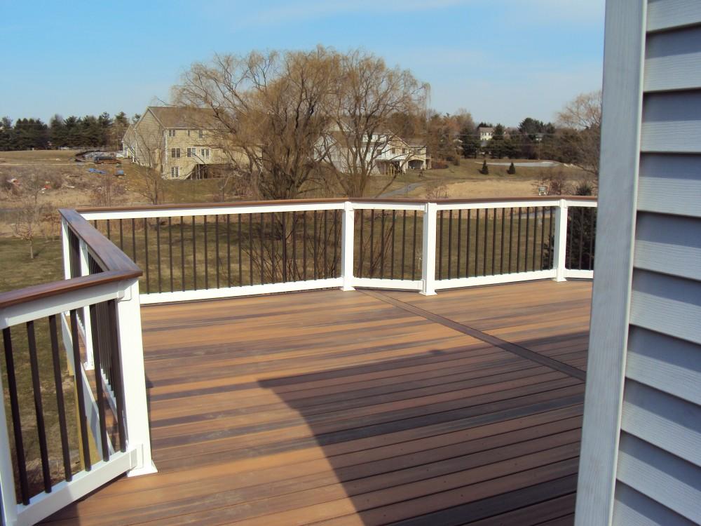 Photo By Breyer Construction & Landscape, LLC. Fiberon Deck