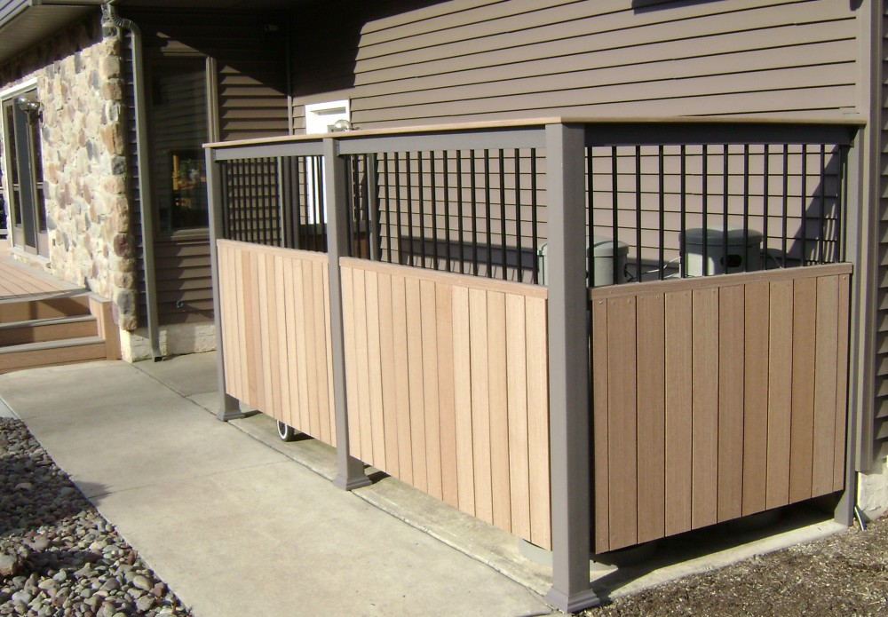 Photo By Breyer Construction & Landscape, LLC. Custom Privacy Fence