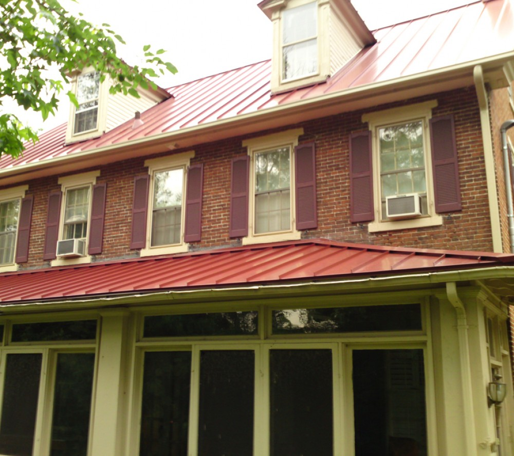 Photo By Global Home Improvement. Historical Metal Roofs