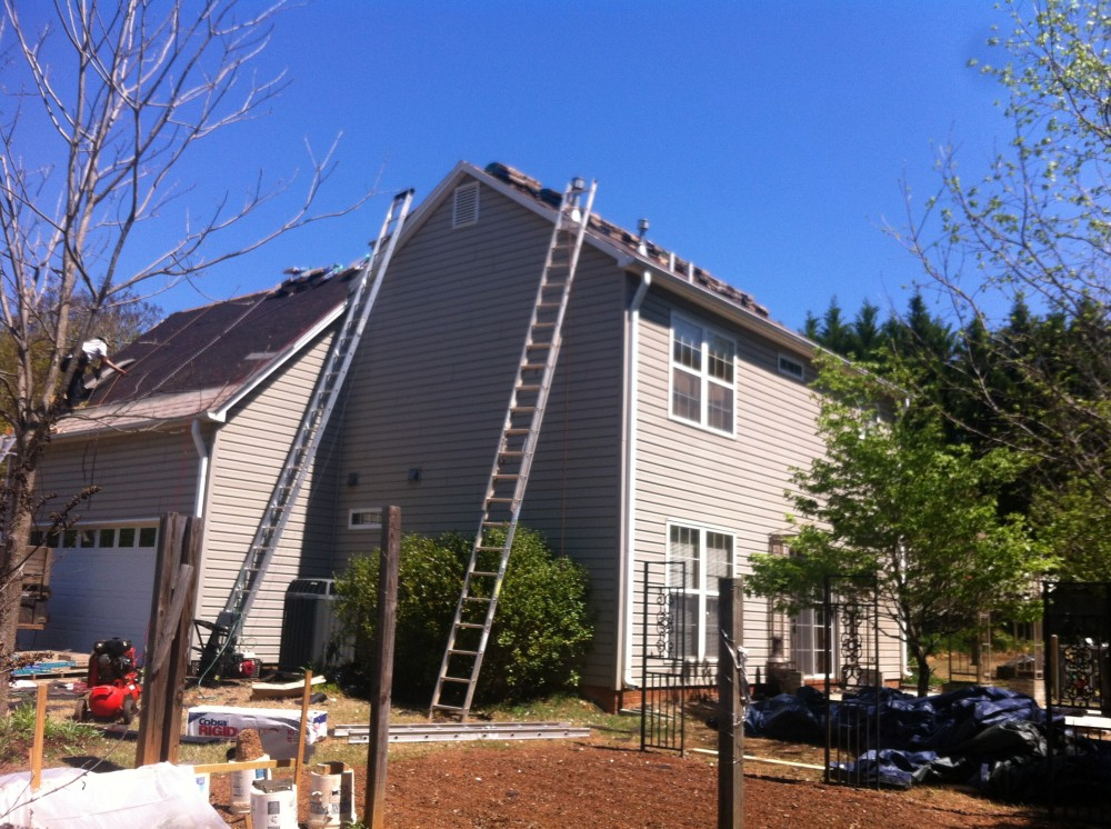 Photo By KEE Roofing. Total Roof Replacement. Another Happy Customer!