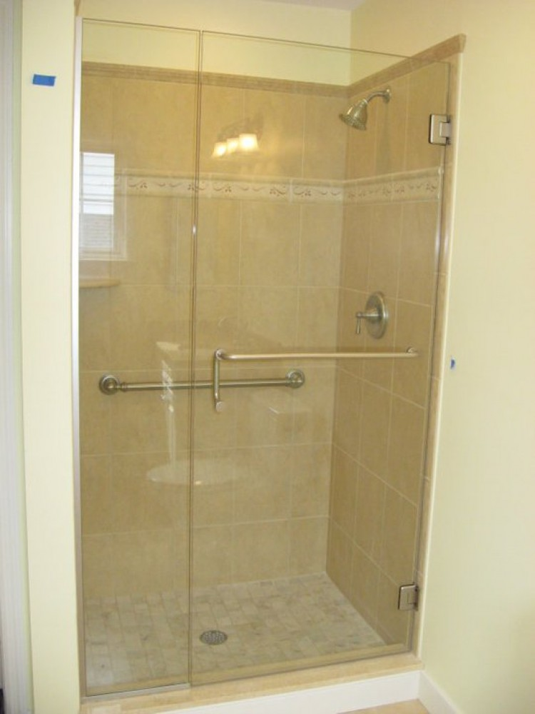 Photo By Boardwalk Builders. Remodeled Baths