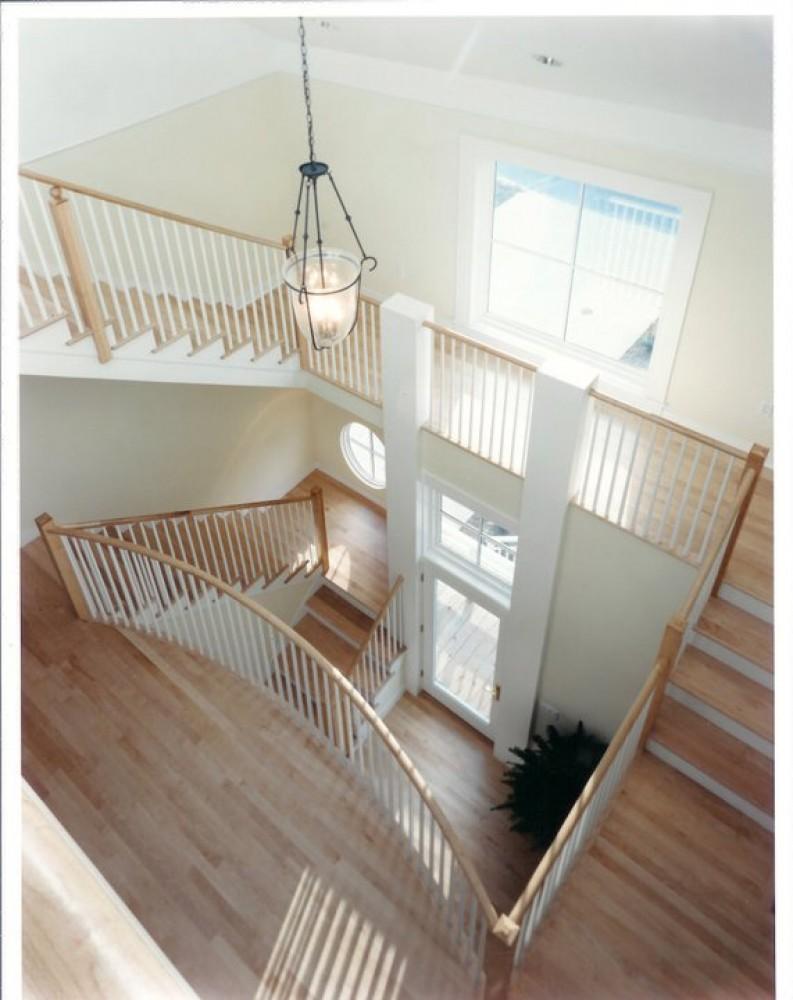 Photo By Boardwalk Builders. Stairs