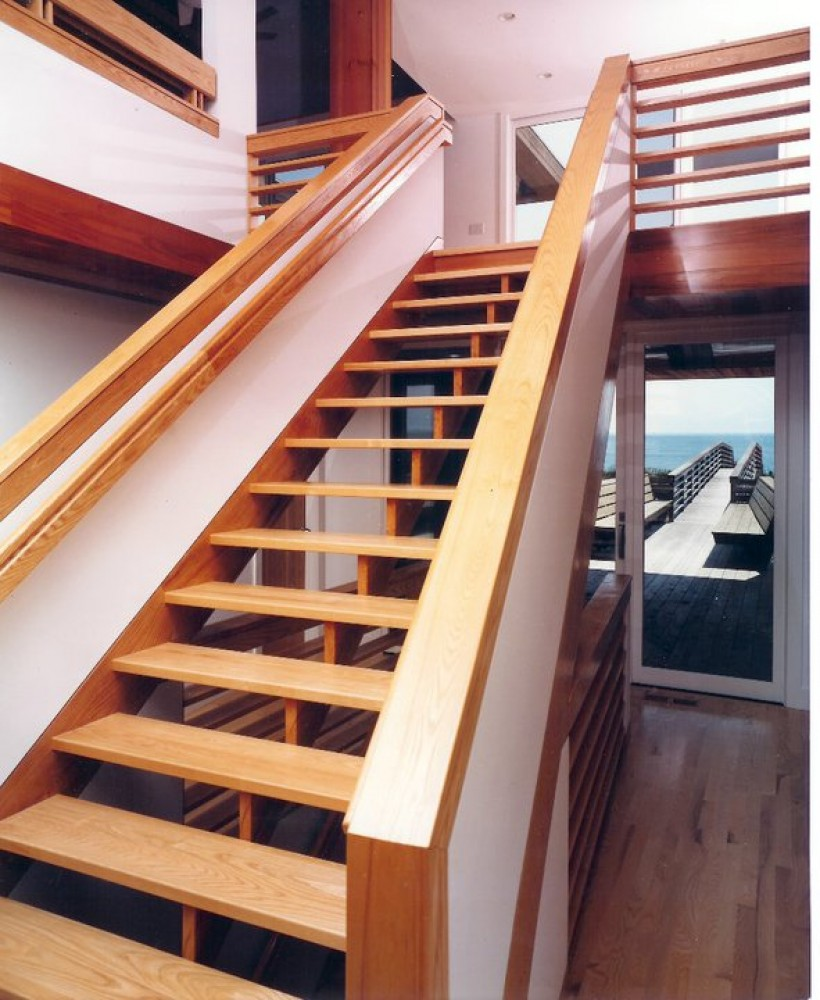 Photo By Boardwalk Builders. Stairs