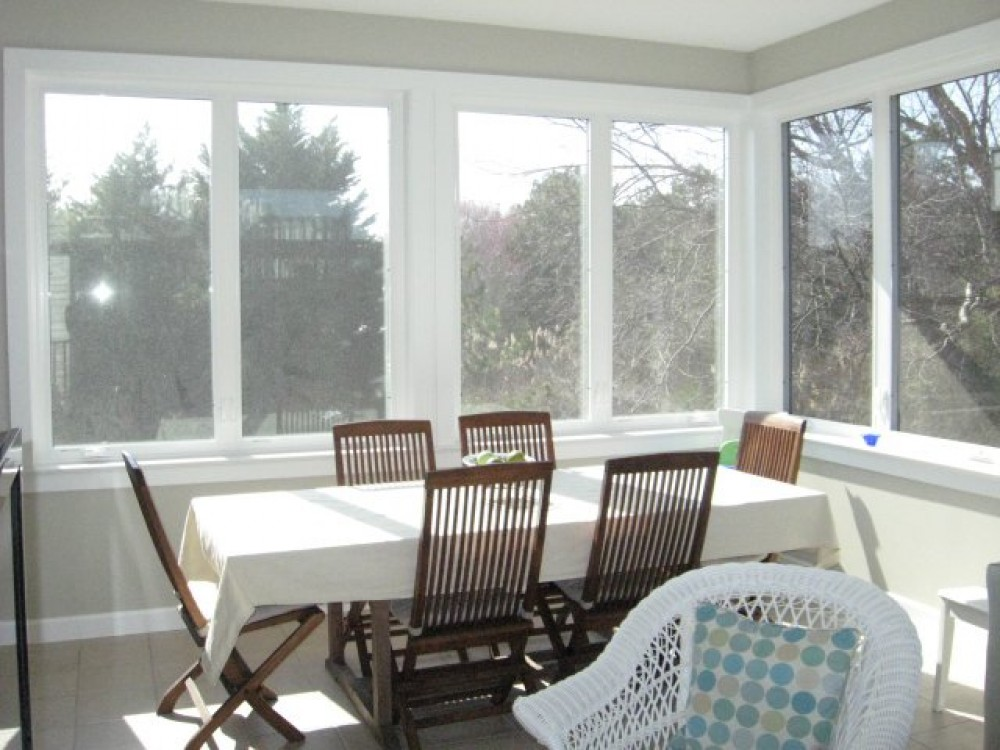 Photo By Boardwalk Builders. Sunroom
