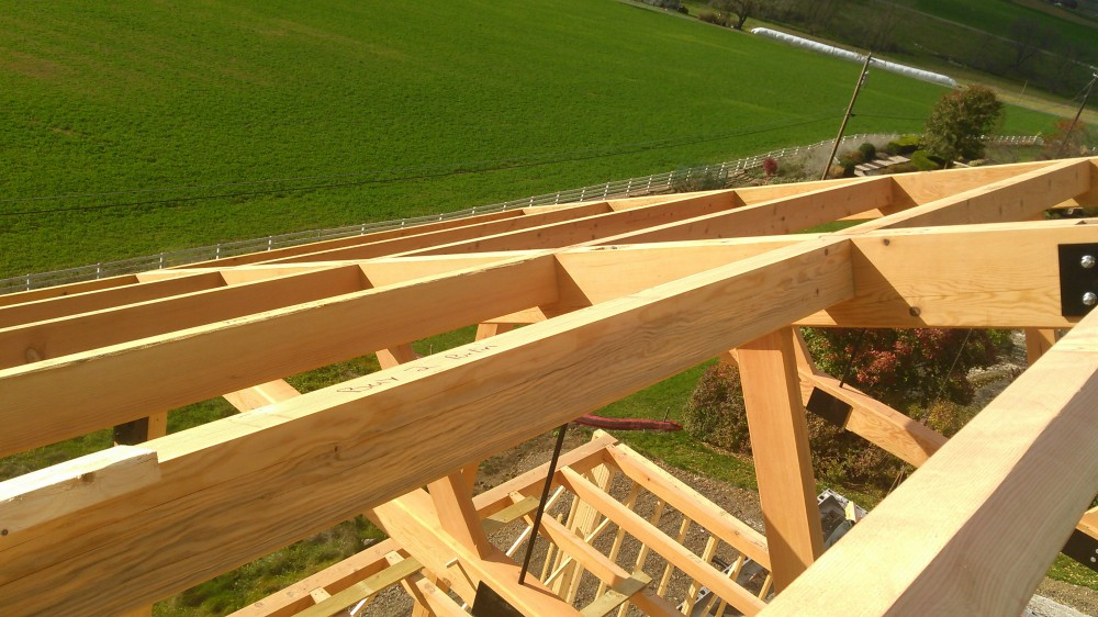 Photo By Lancaster County Timber Frames, Inc.. Mercersburg Residence