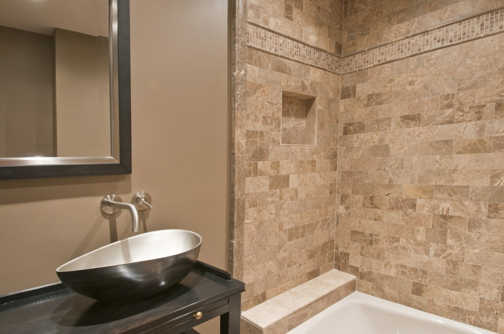 Photo By Strock Enterprises Design & Remodel. Bathroom Renovation