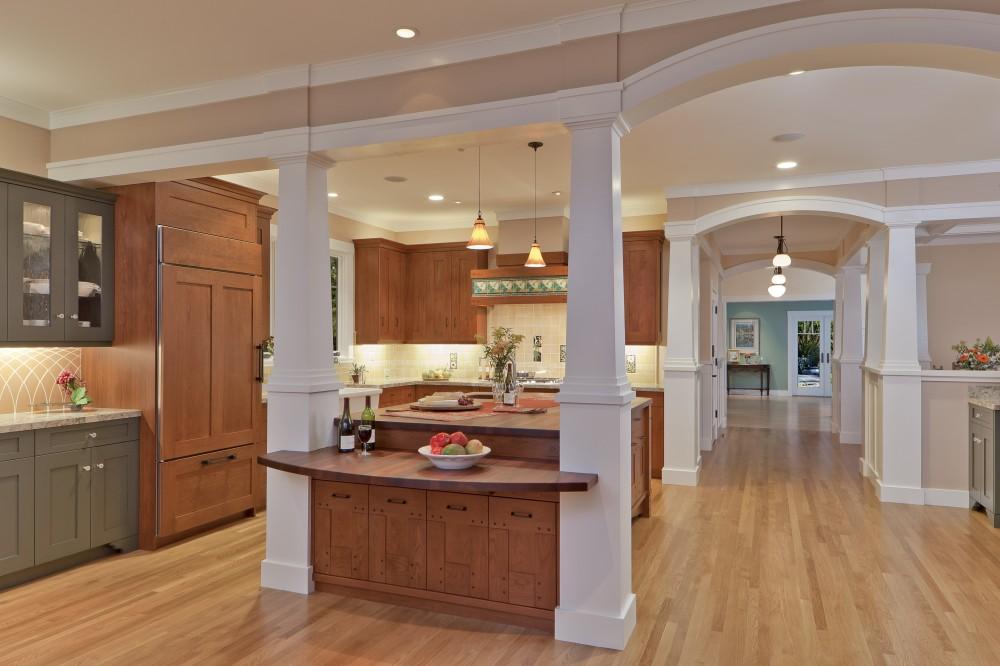 Photo By Custom Kitchens, Inc.. Craftsman Kitchen