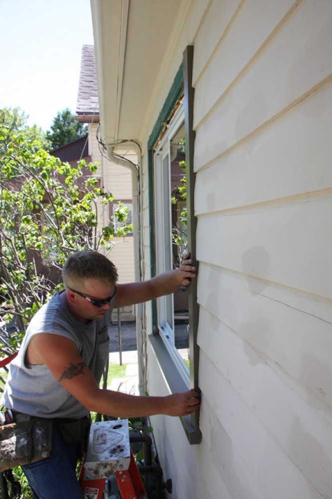 Photo By AHT Wisconsin Windows.  Madison Replacement Window Installation Project