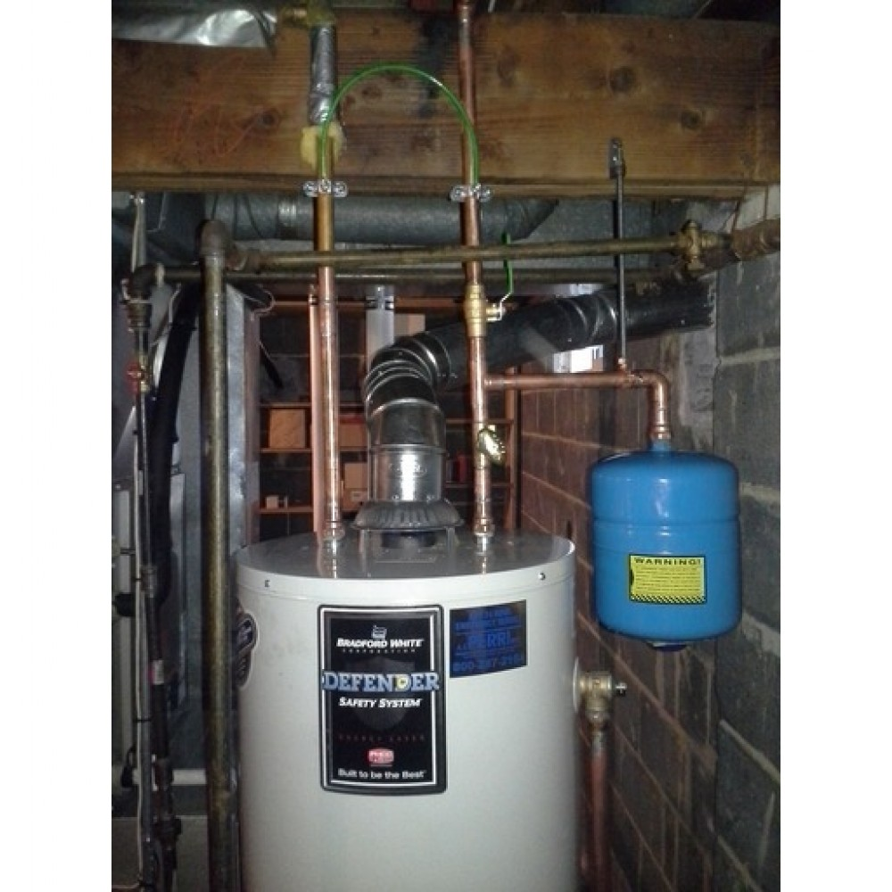 Photo By A.J. Perri (Service). Water Heater Example
