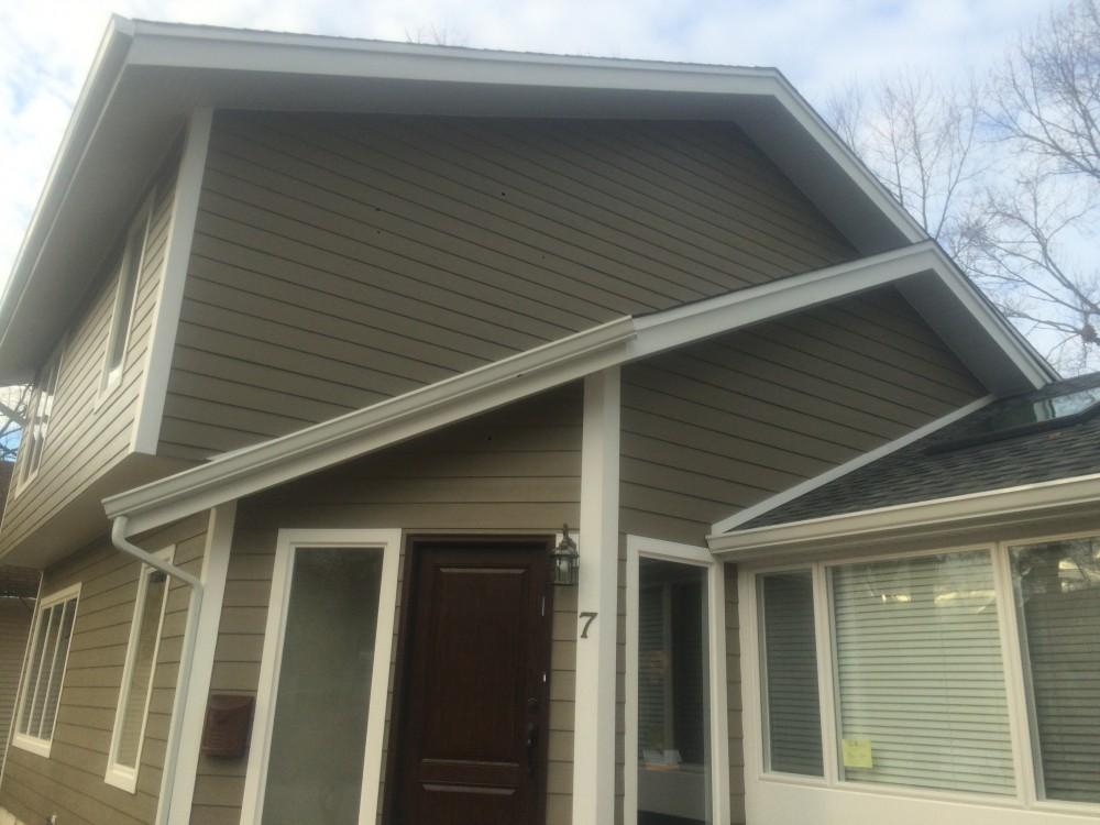 Photo By K & B Home Remodelers, LLC. James Hardie Cedarmill Lap Siding