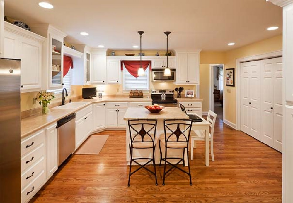 Photo By ALH Home Renovations. Kitchen/Dining Room Remodel, Master Suite Addition