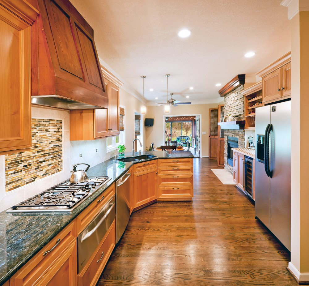 Photo By ALH Home Renovations. Kitchen/Dining Room Remodel