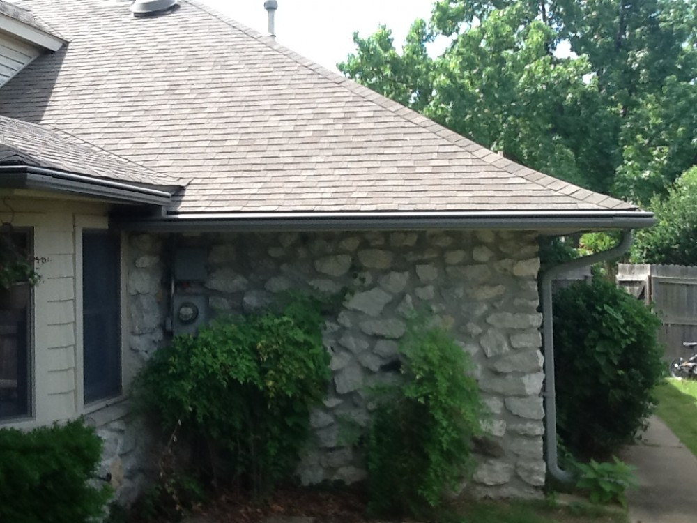 Photo By LeafGuard Gutters & Roofing Of Oklahoma.