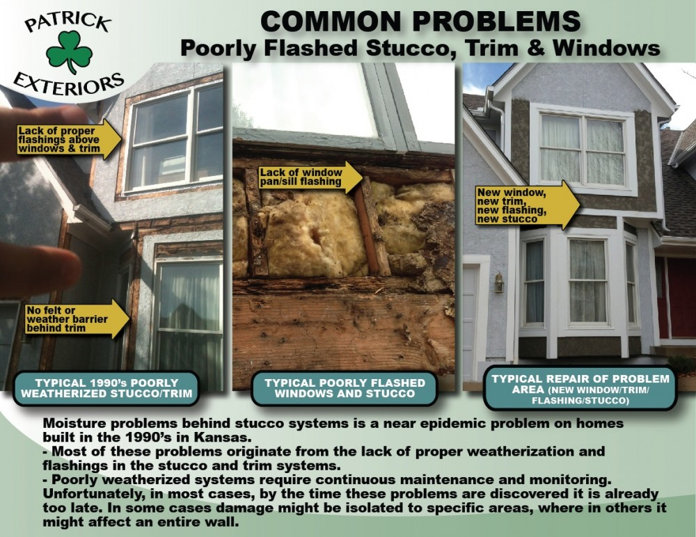 Photo By Patrick Exteriors. COMMON SIDING PROBLEMS