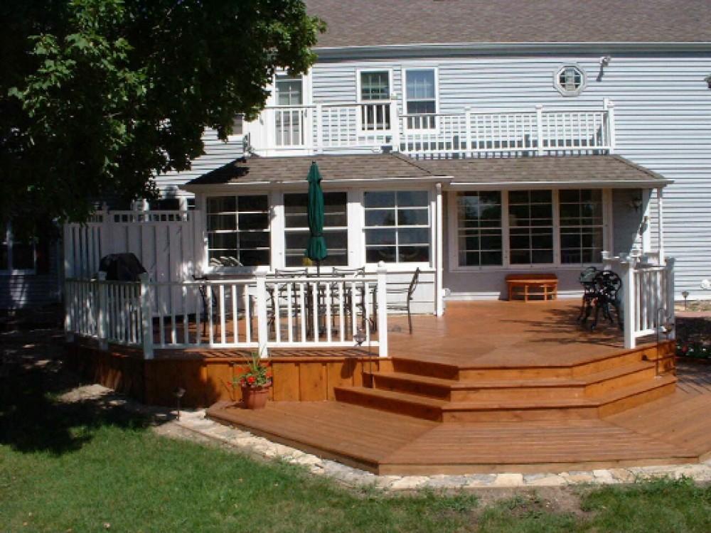 Photo By Klassen Remodeling & Design. Elm Grove Deck Addition
