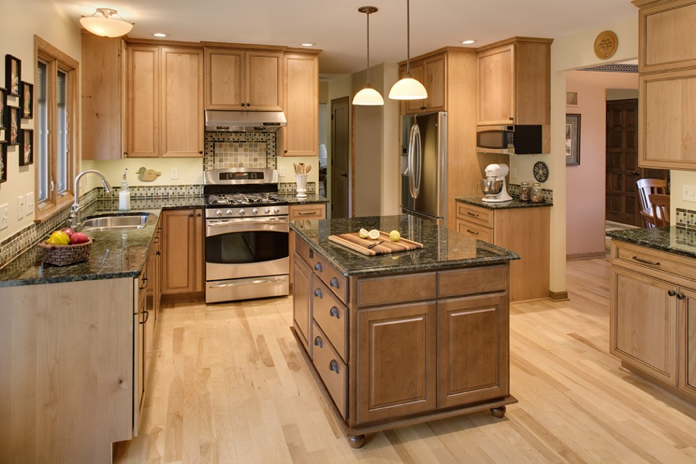 Photo By Klassen Remodeling & Design. Waukesha Kitchen Remodel