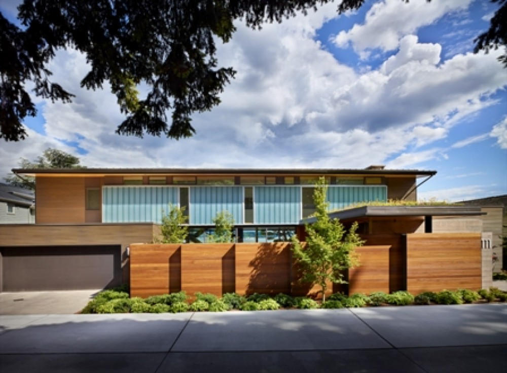 Photo By Prestige Residential Construction. Custom Contemporary Home