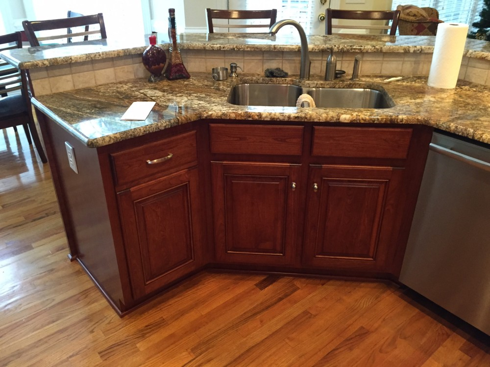 Photo By American HomePride, Inc.. New Kitchen Cabinet Refacing