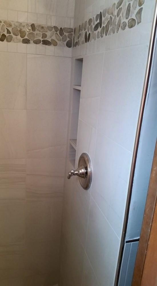 Photo By Kiss Carpet. Beardslee Shower Re-do
