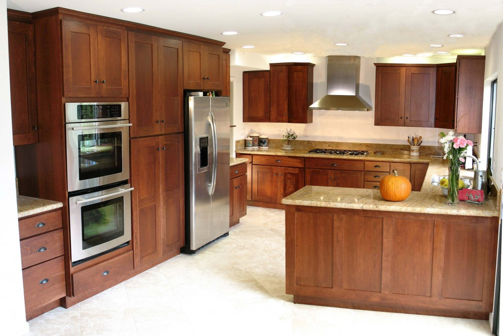 Photo By The Kitchen Crafter. Remodel Adds Pantry & Wall Ovens