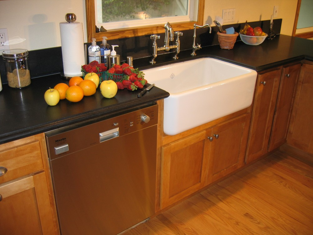 Photo By The Kitchen Crafter. Kitchen With Farm-house Sink