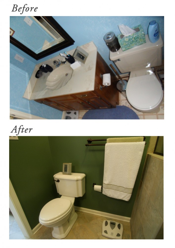 Photo By Criner Remodeling. Before & After Bathroom Make-Over