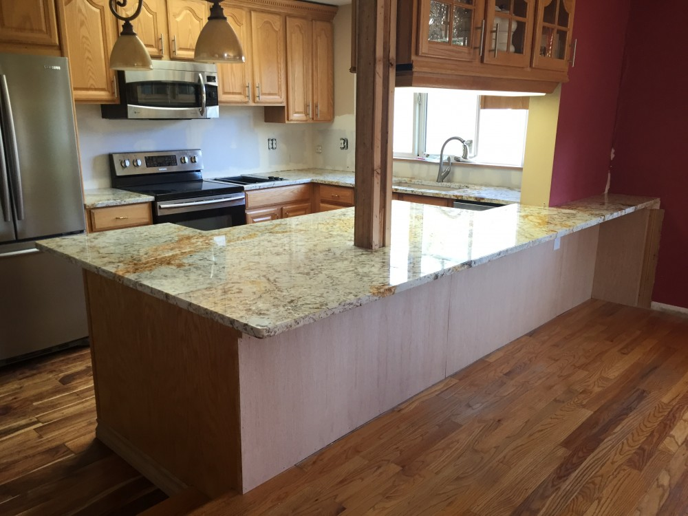 Photo By Precision Countertops, Inc..