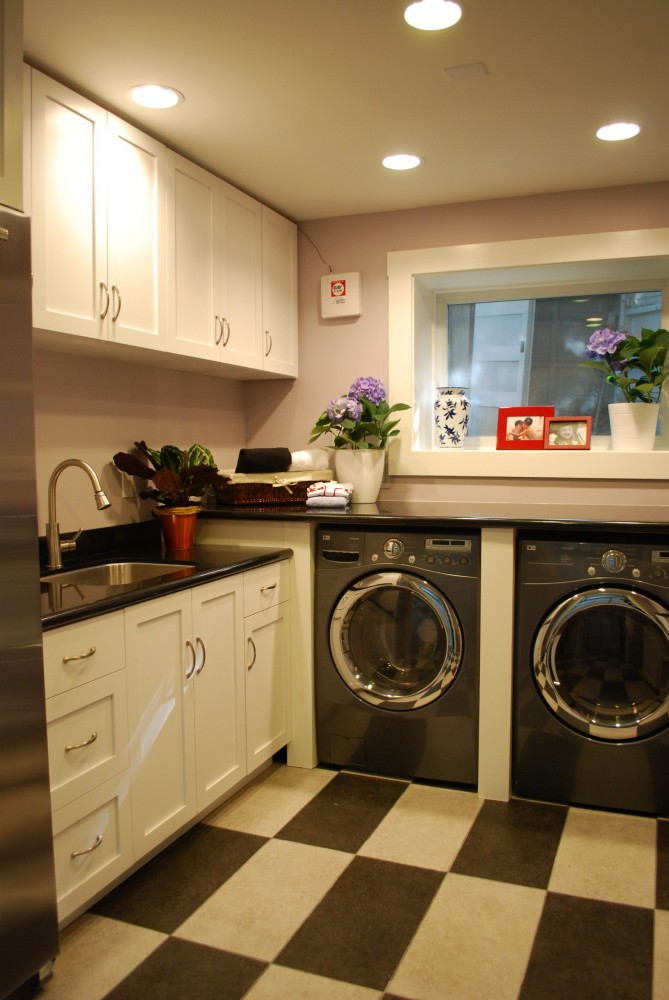 Photo By HDR Remodeling. Laundry Room