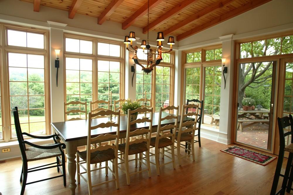 Photo of addition design ideas - Dining room addition ...