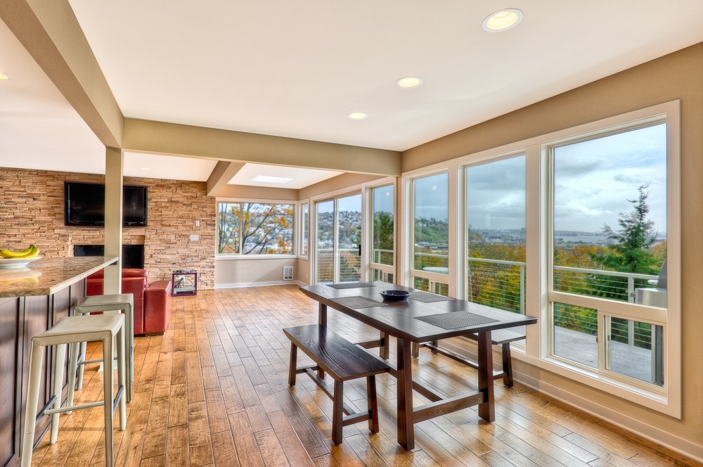 Photo By Powell Homes & Renovations. Taking Advantage Of The View