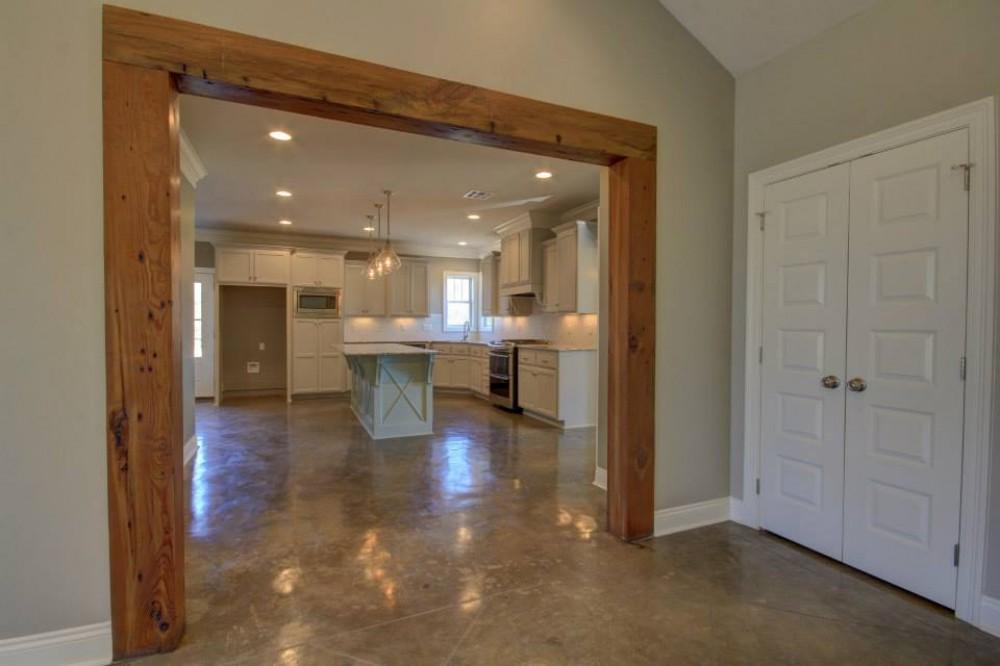 Photo By Manuel Builders. Customized Antoinette Floor Plan