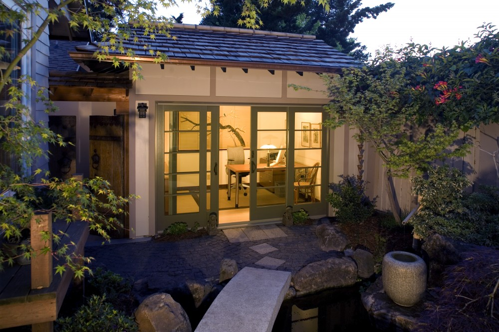 Photo By HDR Remodeling. Garden Office