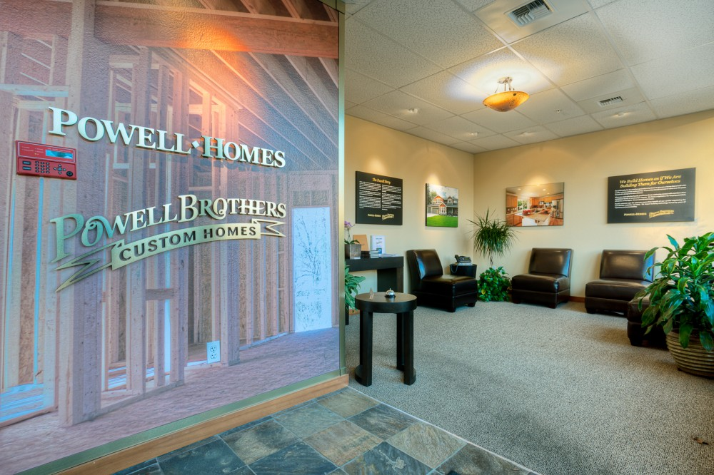 Photo By Powell Homes & Renovations. The Powell Office