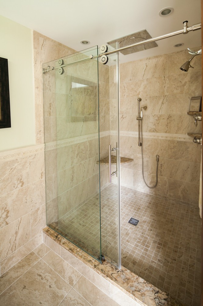 Photo By MN Reale Construction. Luxurious Master Bath