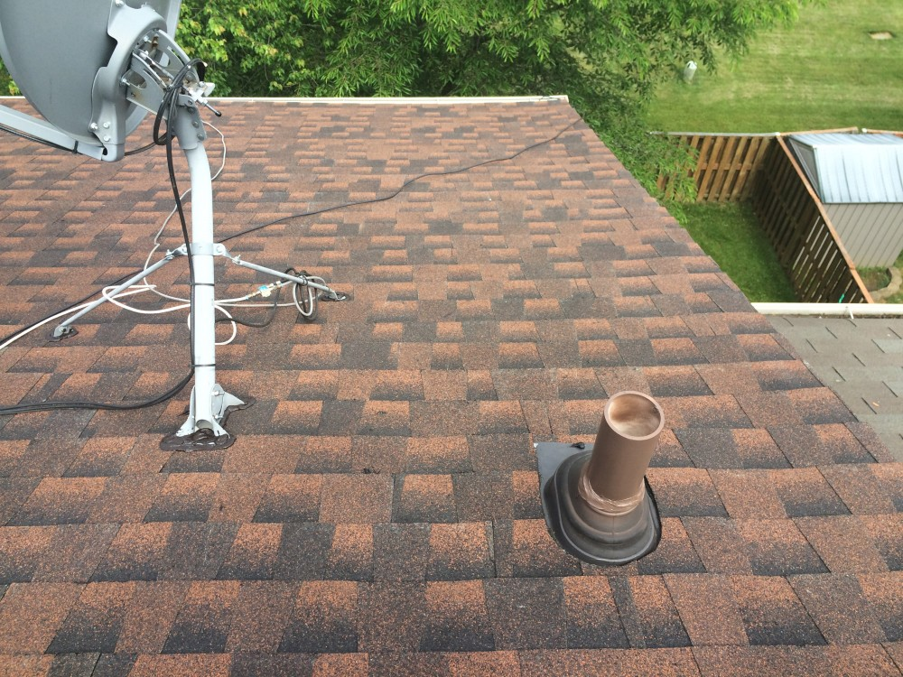Photo By BRAX Roofing. Town House Roof Replacement