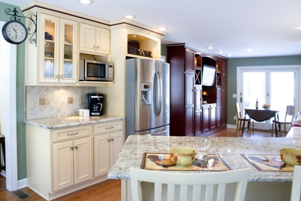 Photo By DreamMaker Of Greater Grand Rapids. Expanded Luxury Kitchen