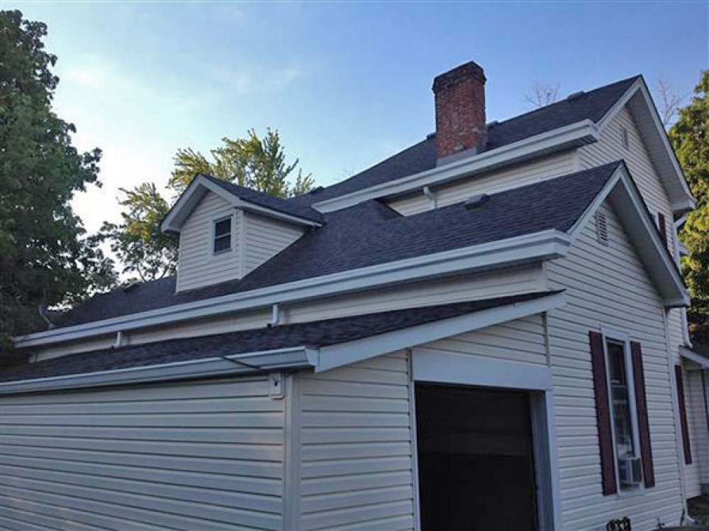 Photo By Moss Roofing. Total Restoration Before And After