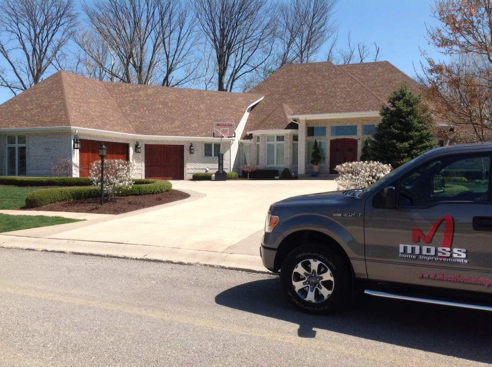 Photo By Moss Roofing. Major Project