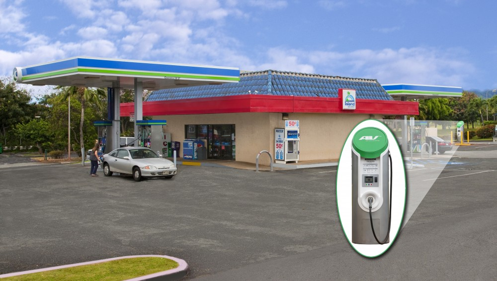 Photo By Webasto Charging Systems. EV 50 DC Fast Charger