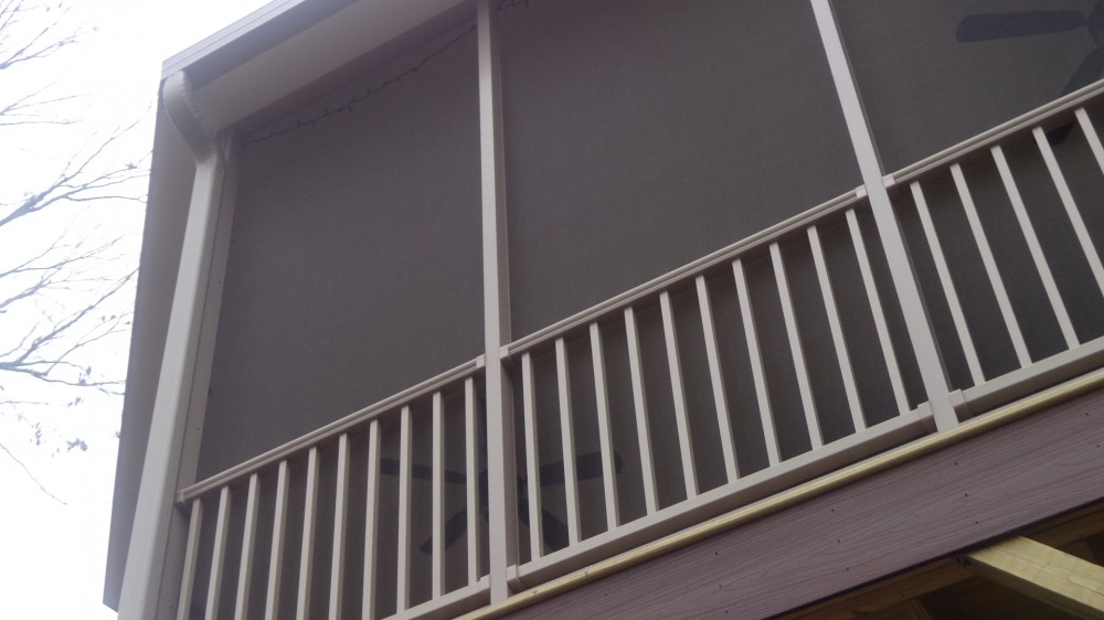 Photo By Durante Home Exteriors. Screen Room And Composite Deck